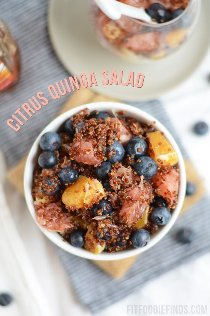 Citrus Quinoa Salad- the perfect dish to bring to a BBQ to share! # ...