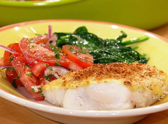 Cod fish baked fish dish pinterest for Baked cod fish recipes