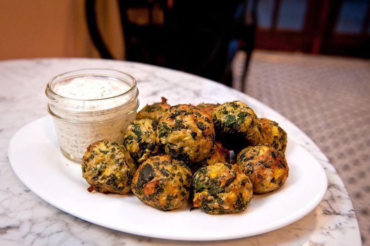 Spinach Artichoke Balls Recipe - Food Republic (Father's Day Dinner ...
