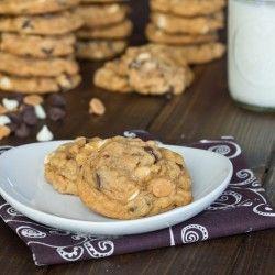 Butterscotch Pudding Triple Chip Cookies | CookieHound | Pinterest