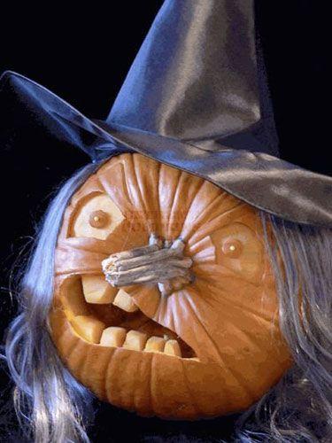 Cool Pumpkin Carving Ideas Funny Stuff Pinterest