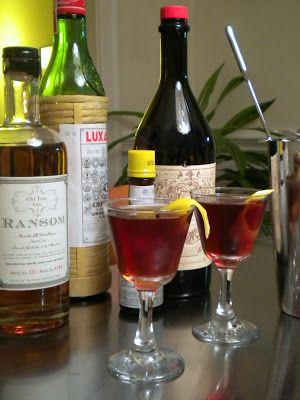 Martinez Cocktail | Cocktails | Pinterest