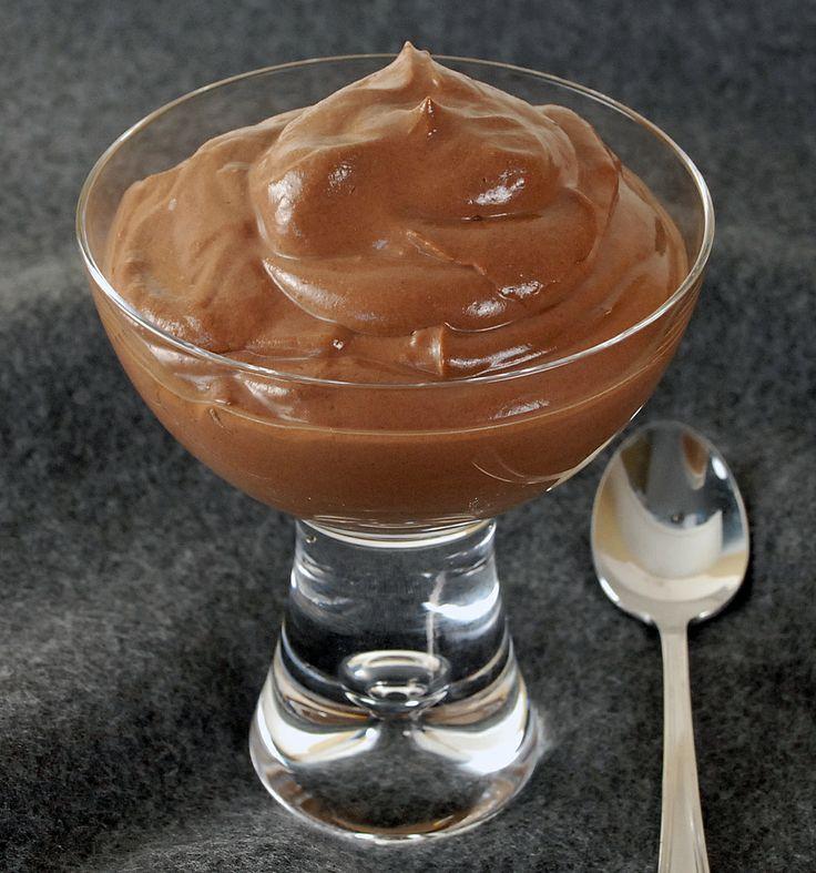 Chocolate Tofu Pudding! - Oui, Chef | Desserts | Pinterest
