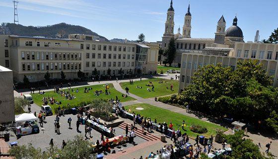 USF  campus overheadUsf Campus