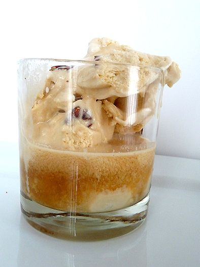 bourbon ice cream float