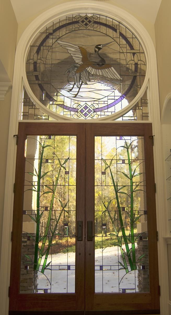 Amazing Stained Glass Door Doors I Pinterest