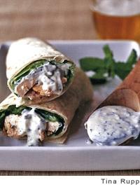 Tandoori Chicken Roll-ups | Recipe
