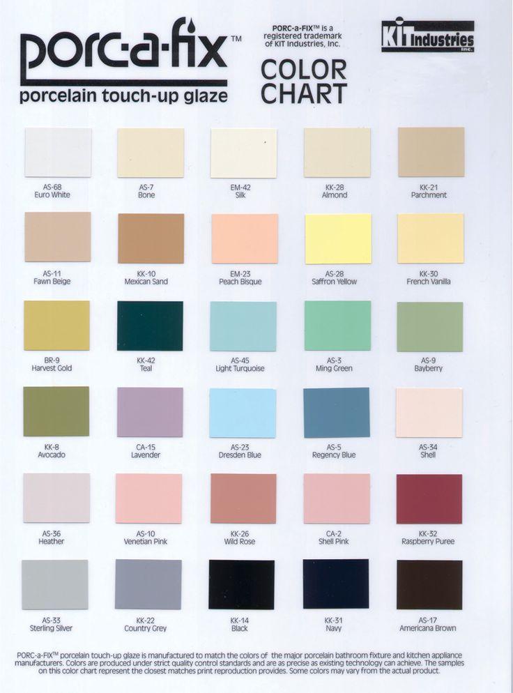 Porcelin Tile Touch Up Paint