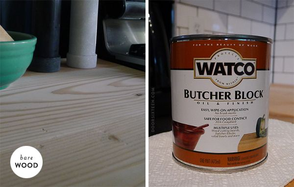 butcher block oil finish my guy friday pinterest
