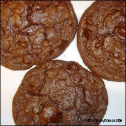 Cake mix cookies. i actually used 3-2-1 cake mix (angel food mixed ...