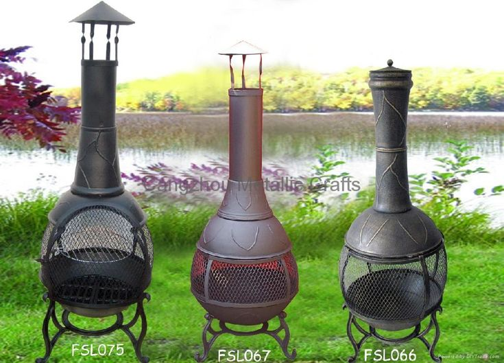 Delightful Chiminea Outdoor Fireplace Chiminea Fire Pit Ideas