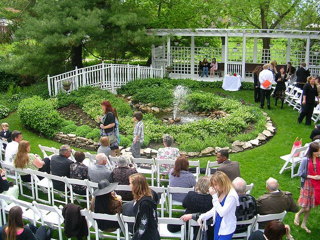 backyard wedding design Unique Wedding Decorations Ideas