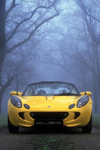 The Early Lotus Elise Series 2 Sports Car