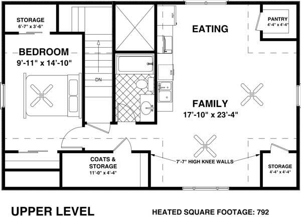 Floor Plan Second Story Garage Apartments Pinterest