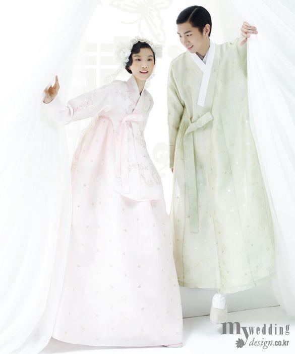 Korean wedding dresses on pinterest korean traditional