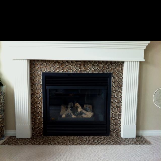 Fireplace Refurbish Refurbished Pinterest