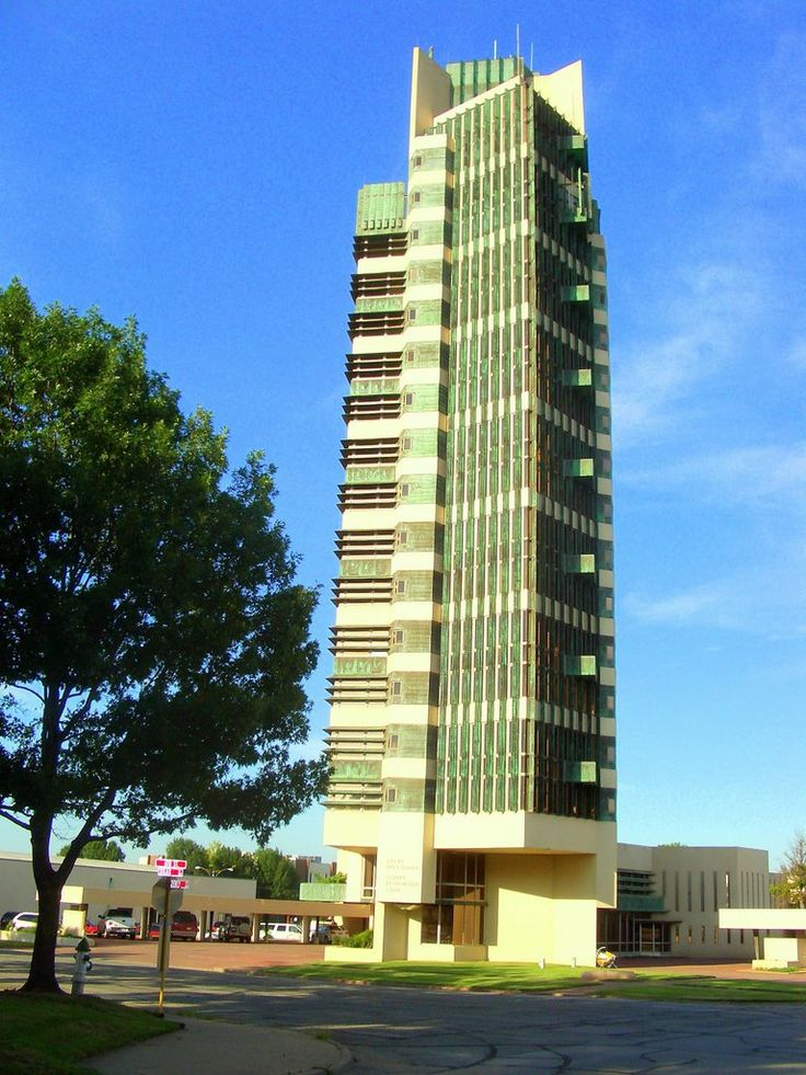 price tower by frank lloyd wright in bartlesville