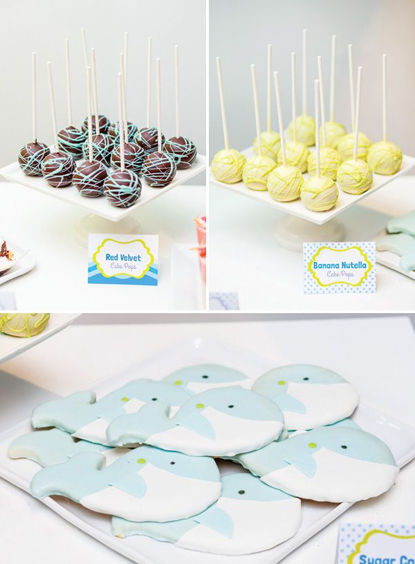 eco friendly adorable whale themed baby shower hostess with