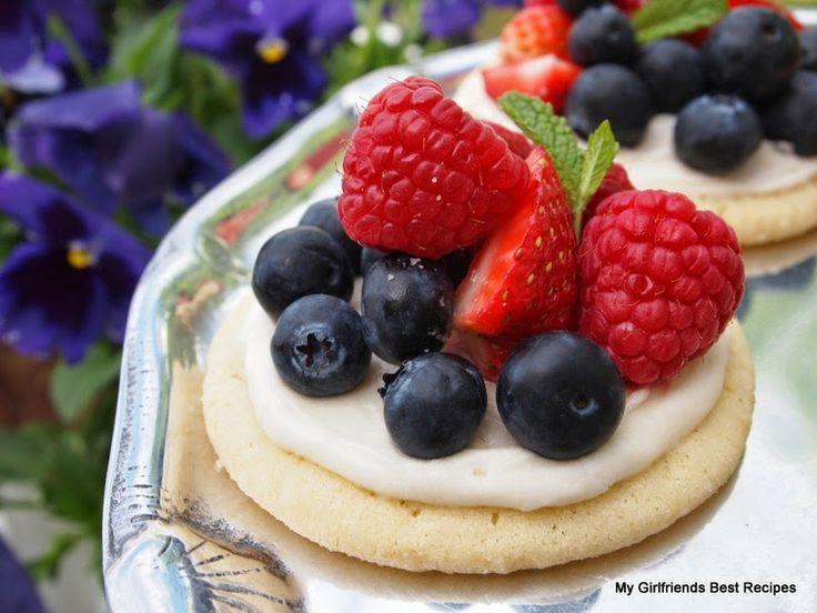 Sugar Cookie Tarts | Cookies & Bars, Too | Pinterest