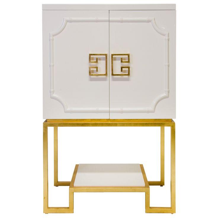 Worlds Away Anna White Bar Cabinet Furniture Pinterest