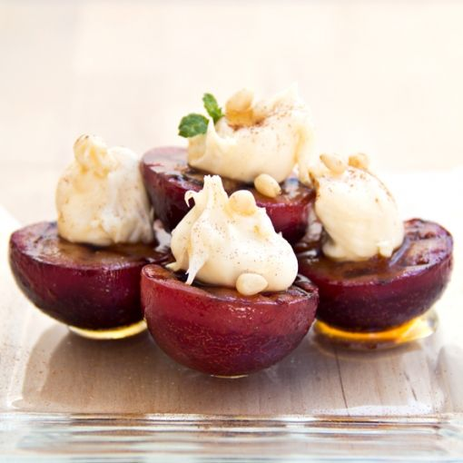 ... cream mascarpone ice cream broiled plums with mascarpone cream recipe