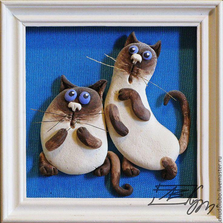Картина с котами своими руками 42