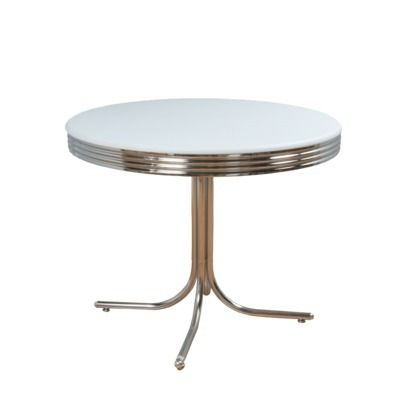 Dining Table Chrome Retro Dining Table