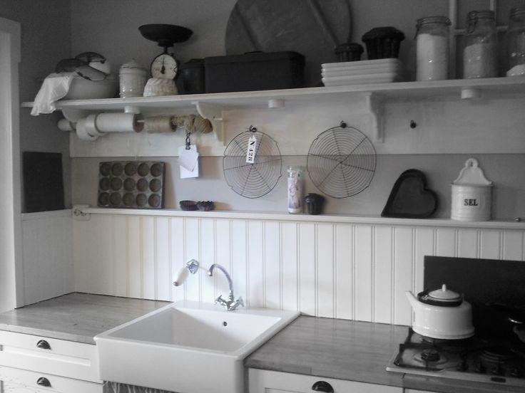 Leuke ideeën voor de bijkeuken  Kitchen/Keuken  Pinterest