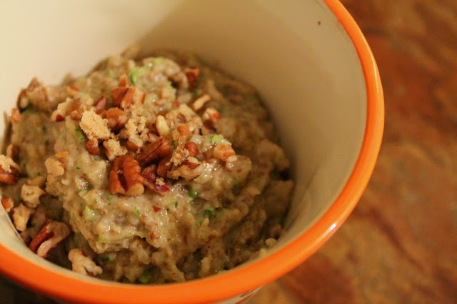 Zucchini Bread Oatmeal | ♨ Healthy Recipes ♨ | Pinterest