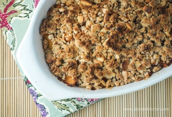 Works for breakfast and dessert - Apricot Crisp for only 134 calories ...