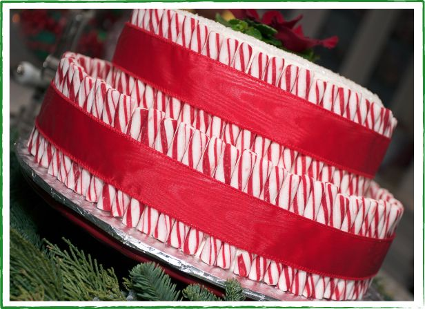 Devil's Food Layer Cake With Peppermint Frosting Recipe — Dishmaps