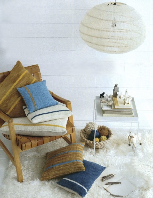 Cozy corner in Martha Stewart