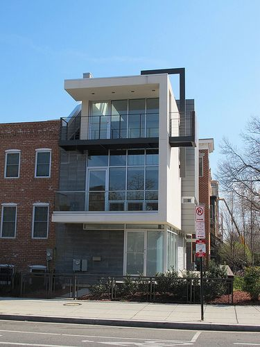 Modern Row House U Street Dc Dream Dream Dream Pinterest