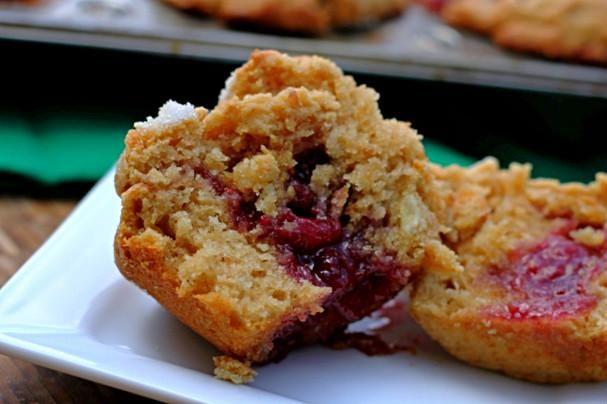 Peanut Butter and Jelly Muffins | Recipies | Pinterest