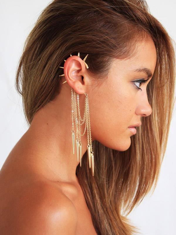 Pretty Ear Piercings | Amazing ear piercings | Pinterest