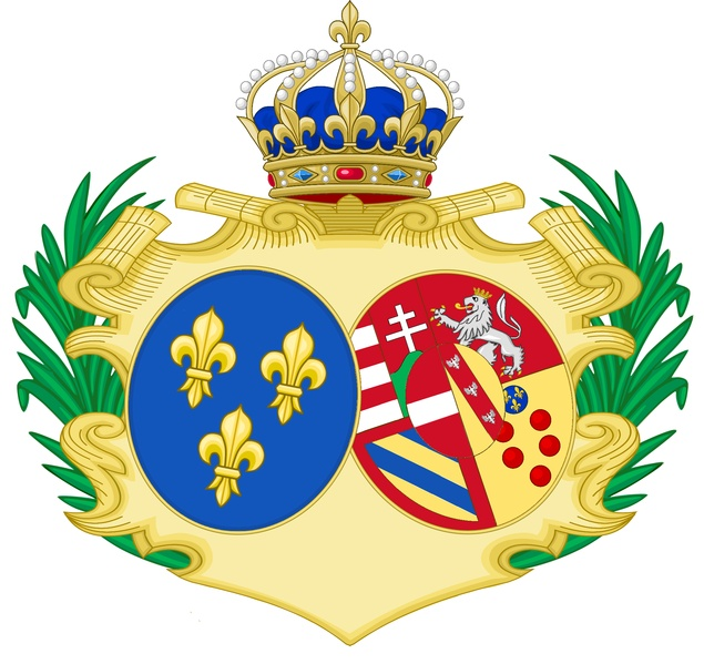 Arms of Marie Antoinette of Austria (1755-1793)