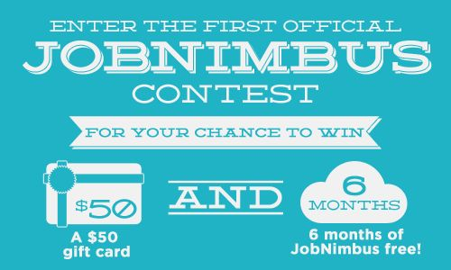 The First Official JobNimbus Contest Starts... Now!