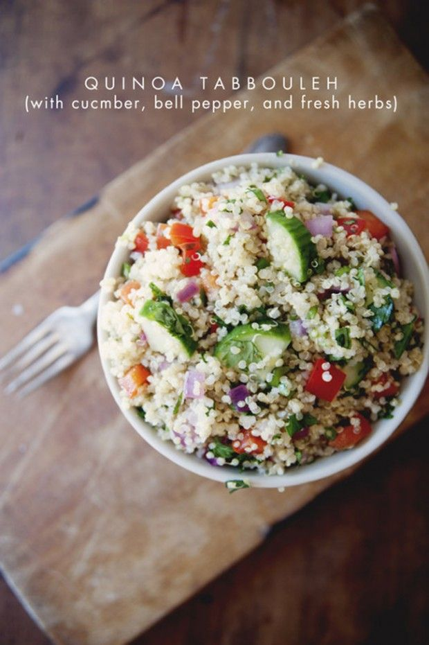 quinoa tabbouleh + 19 other delicious bell pepper recipes | Rainbow ...