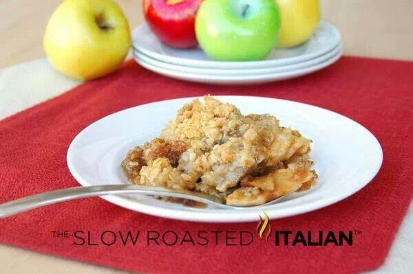 Honeycrisp apple crisp! I love the slow roasted italian!