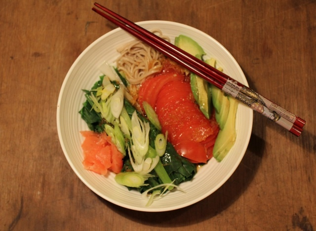 Japanese Soba Noodle Dinner Bowl Recipes To Try Pinterest