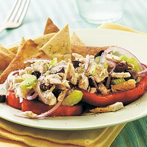 Mediterranean Tuna Salad found on My Recipes. Recipe is from Cooking ...