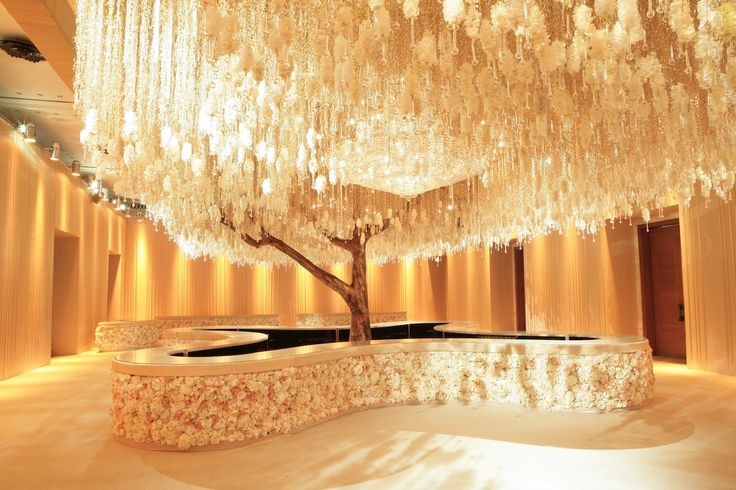 Weeping Crystal Tree by Preston Bailey