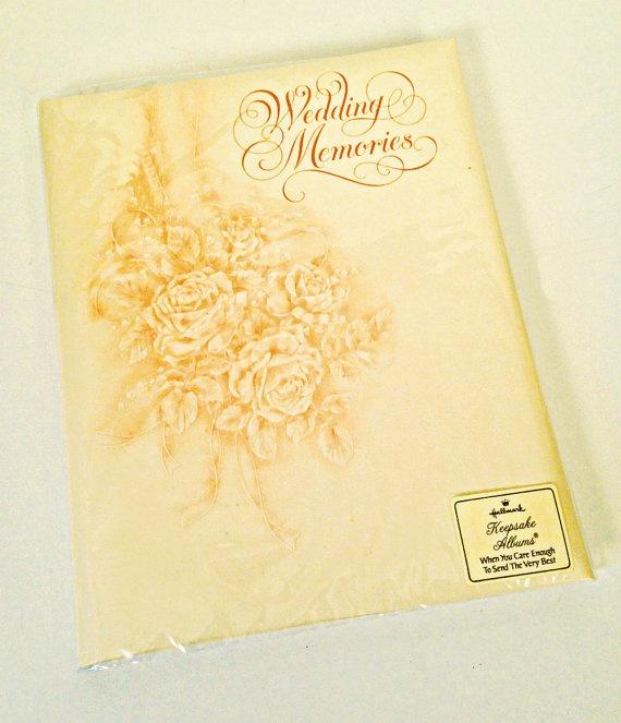 Hallmark Wedding Album