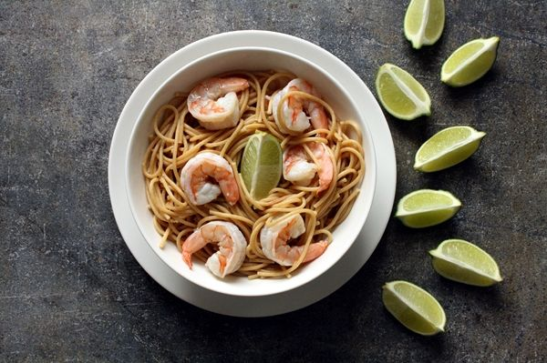 Garlic Lime Shrimp | Lemons and Limes | Pinterest