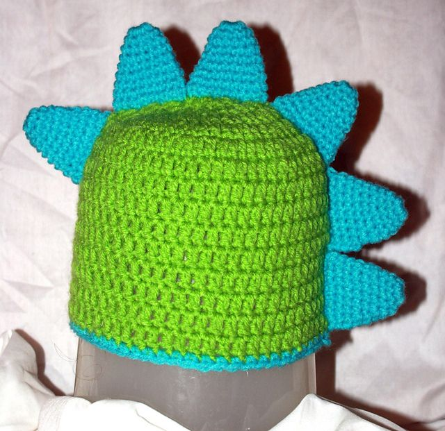 free Toddler Dinosaur Hat pattern Crochet! Pinterest