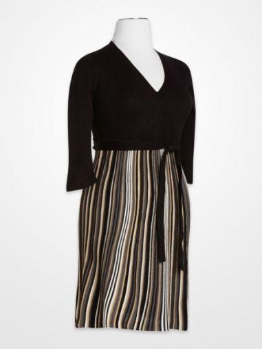 Sandra Darren Black & Tan Dress | K&G Fashion Superstore by KG Fashion ...: pinterest.com/pin/101331060339834514