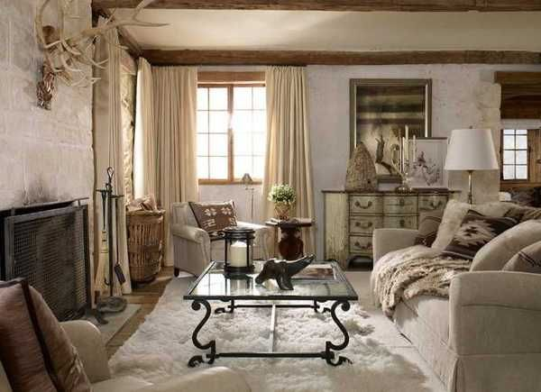 Alpine Country Home Decor Ideas Rustic Elegance From Ralph Lauren Ho
