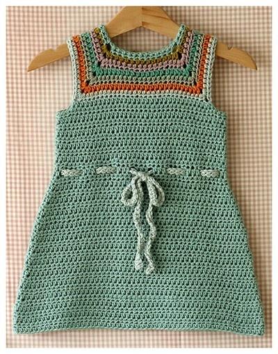 Crochet baby dress? soooo-cute 4 Crochet (Baby & Kids ...
