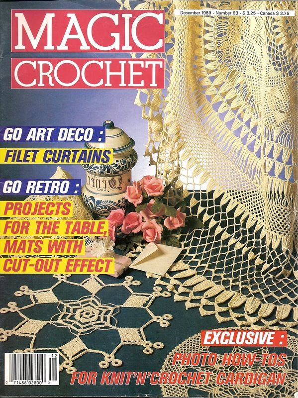 Magic Crochet Magic Crochet Pinterest