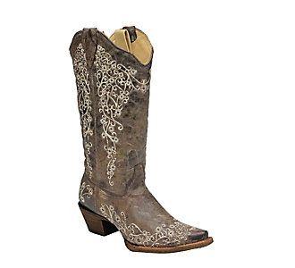 Women s Corral Crater Studs Boots   Scheels